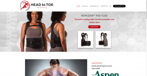New Website Launch: Head to Toe Ortho